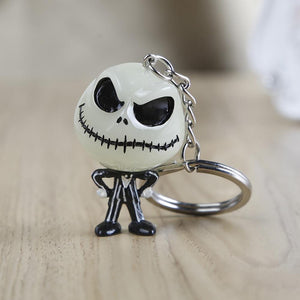 The Nightmare Before Christmas Jack's 3D Halloween Keychain