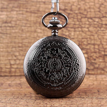 To My Son I Love You Black Vintage Pocket Watch