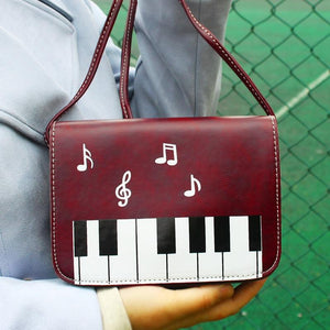 Piano Music Crossbody Bag
