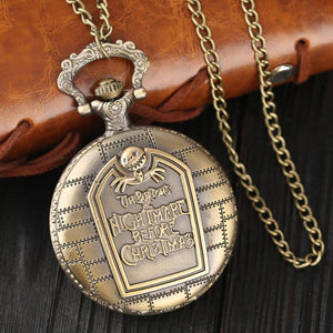 The Nightmare Before Christmas Vintage Pocket Watch