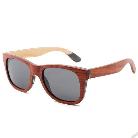 Bravo Wooden Sunglasses Bamboo