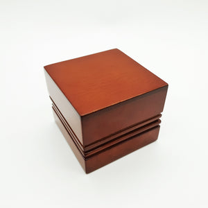 Luxury Wood Ring Box.