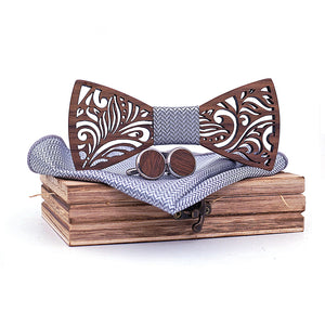 Cabarita Wooden Bow Tie Set.