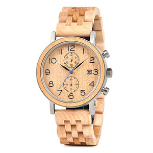 Maximus Wooden Chronograph