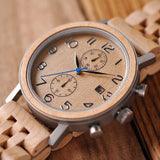 Maximus Wooden Chronograph.