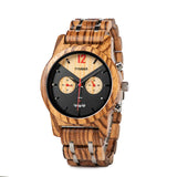 Bishop Wooden Watch