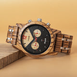 Bishop Wooden Watch.