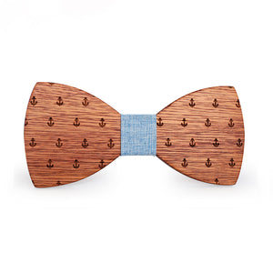 Drake Wooden Bow Tie.