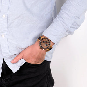 Hatton Wooden Chronograph