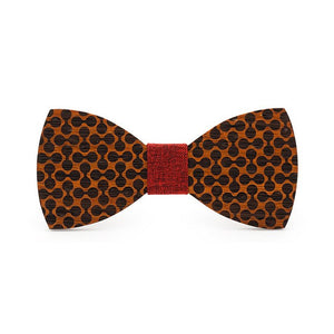 Marcus Wooden Bow Tie