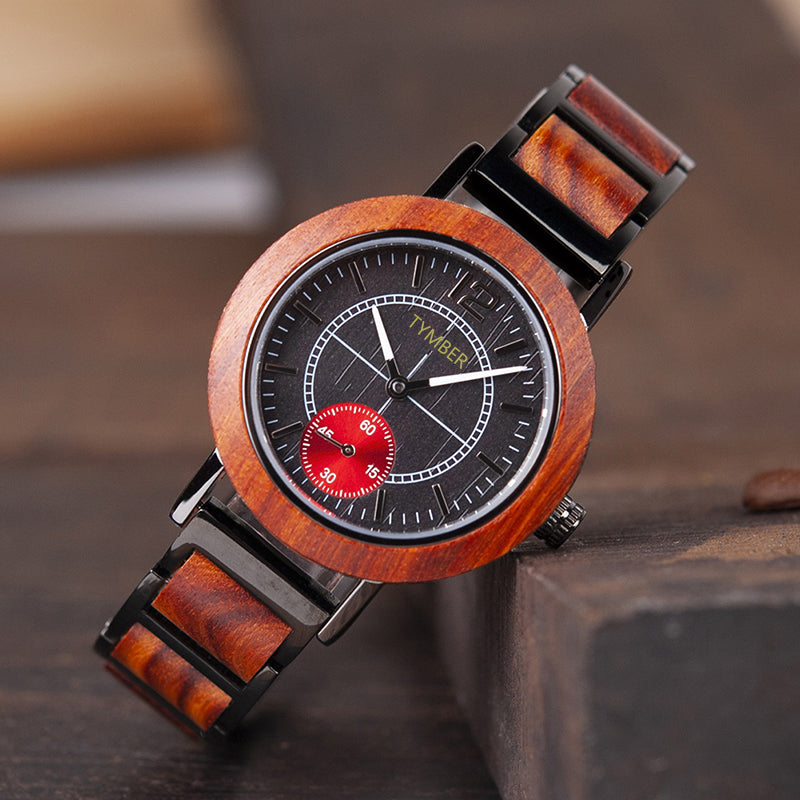 Mason Couples Wooden Watch Set