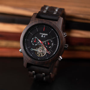Michigan Wooden Mechanical Watch
