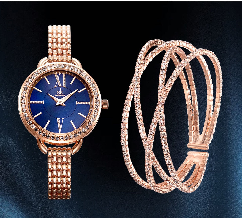 Georgia Crystal Watch & Bracelet Gift Set