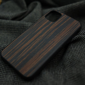 Black Rosewood iPhone Case