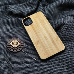 Bamboo Wood iPhone Case.