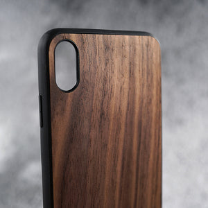 Walnut Wood iPhone Case.