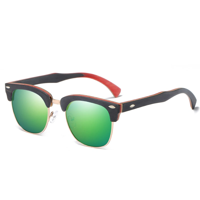 Axeman Wooden Sunglasses
