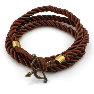 Crossbow Rope Bracelet