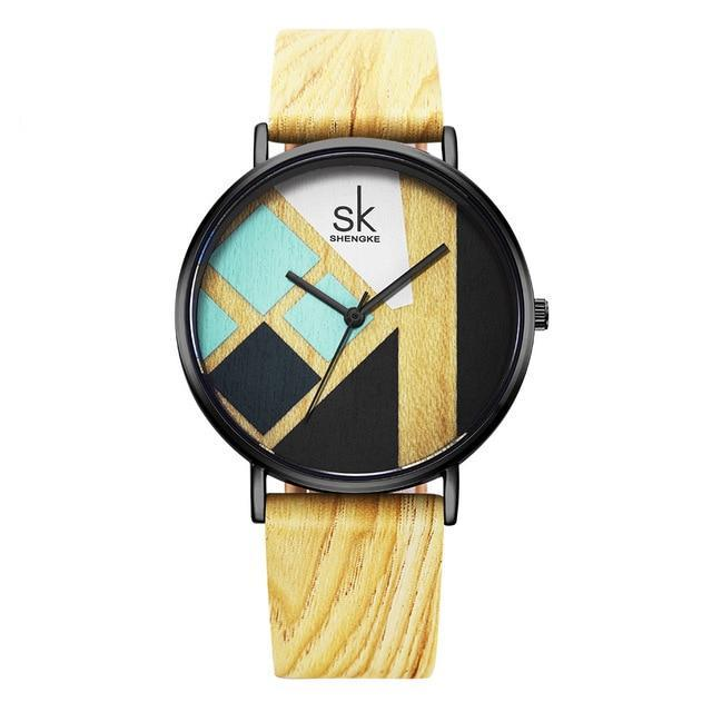 Astrid Wooden Watch