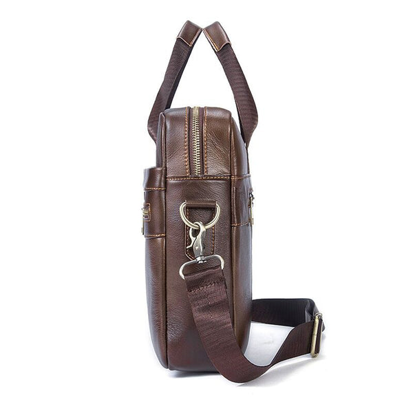 Wanderer Leather Messenger Bag