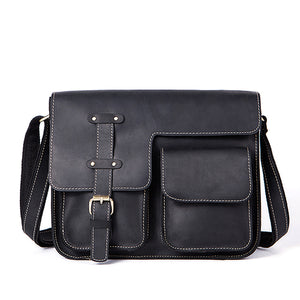 Commuter Leather Messenger Bag