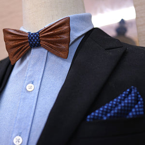 Manhattan Wood Bow Tie.