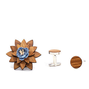 Bishop Brooch & Cufflink Gift Set