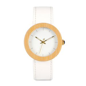 Elise Wooden Watch.