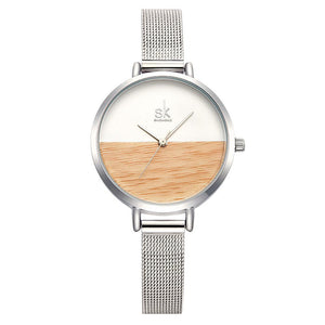 Amelia  Wooden Watch.