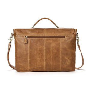 Rover Leather Messenger Bag.