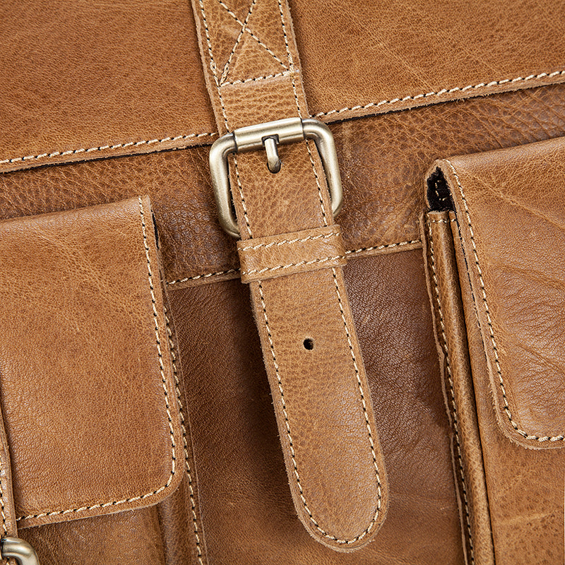 Rover Leather Messenger Bag