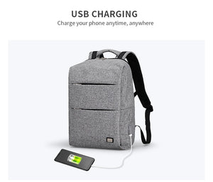 Secure Student Back Pack (15 inch Laptop + USB Charging)