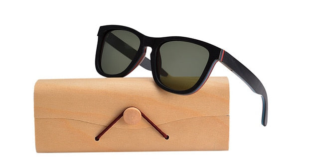 Baxter Wooden Sunglasses