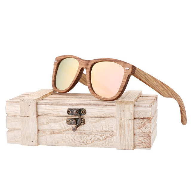 Carter Wooden Sunglasses