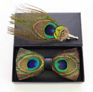 Spalding Feather Bow Tie Set