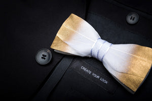 Wattle Feather Bow Tie Set