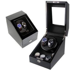 Luxury Automatic Watch Winder (2 watch Capacity)
