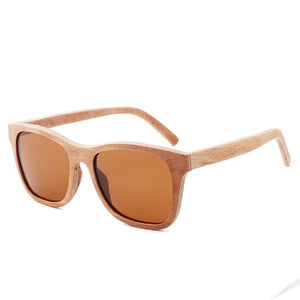 Kierra Wooden Sunglasses.