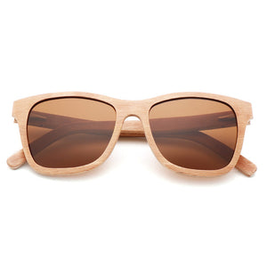 Kierra Wooden Sunglasses
