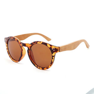 Aurora Wooden Sunglasses.