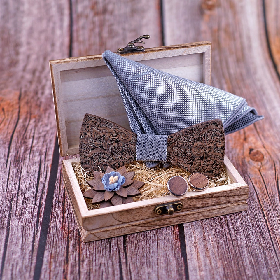 Fortitude Bow Tie Set Groomsmen Package