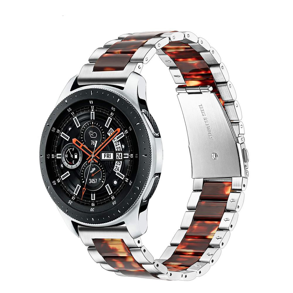 Samsung Galaxy Watch Resin & Stainless Steel Replacement Band (46mm SM-R800).