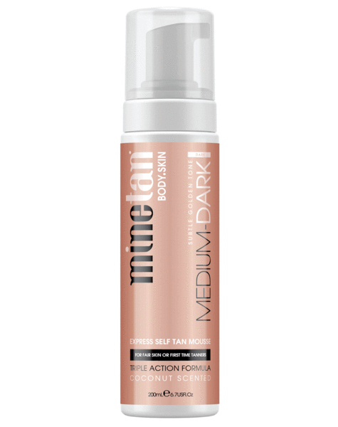 MineTan | Medium Dark Self Tan Foam