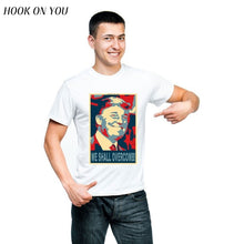 2018 new arrival fashion Donald John Trump T-shirts unisex short sleeve unique funny t shirt