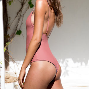 Frankie One Piece - Blush/Slate