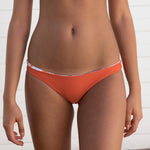 Basic Bikini Bottoms - Orange Ikat