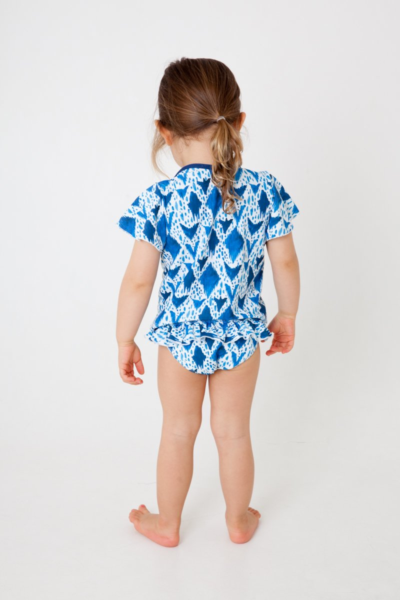 Girls swim shirt- IKAT