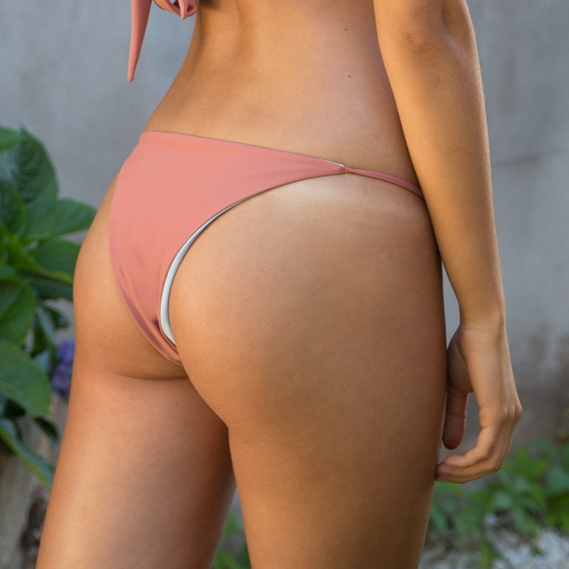 Cheeky Bikini Bottoms Blush/Ash