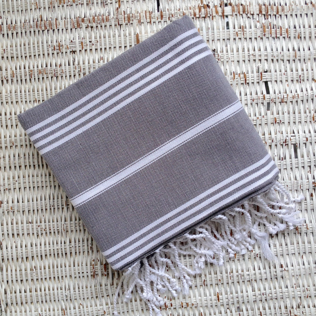 Turkish towel- CHARCOAL