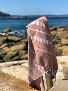Turkish Towel - Rust